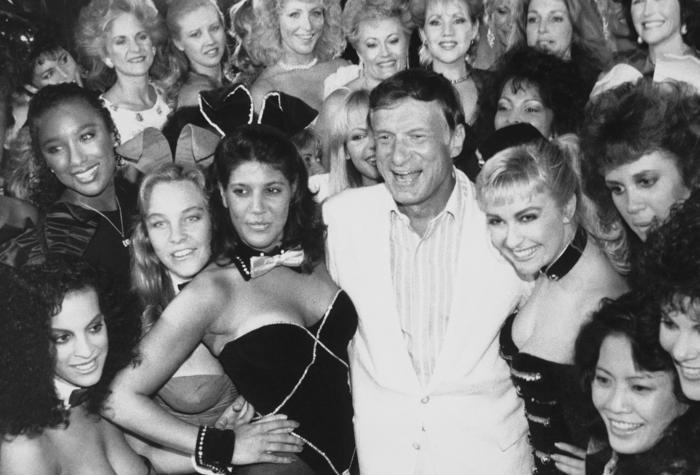 Hugh Hefner Playboy bunnies