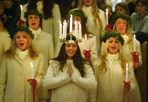 Stockholm's Lucia 2003, Therese Andersso