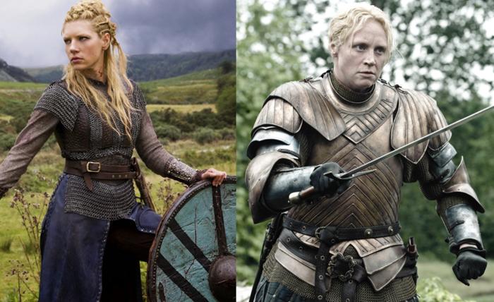 Lagertha vs Brienne of Tarth