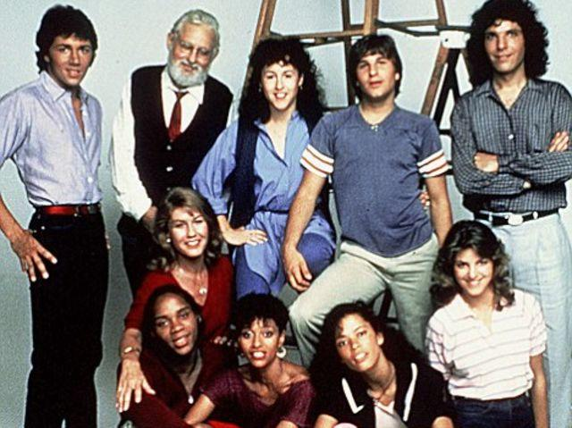 Live forever. The cast of Fame.