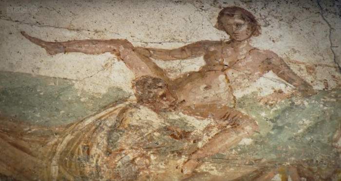 Image result for pompeii wall art sex