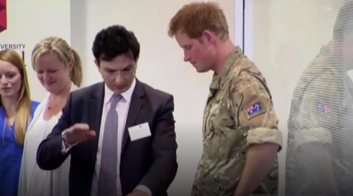 SBS Dr Al Muderis Prince Harry