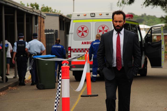 Alex Dimitriades The Principal ambulance