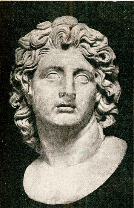 Alexander the Great (Marble Bust in Capitolinetlus, Rome)   | AAP/MARY EVANS/Antiquarian Images NO ARCHIVING, EDITORIAL USE ONLY