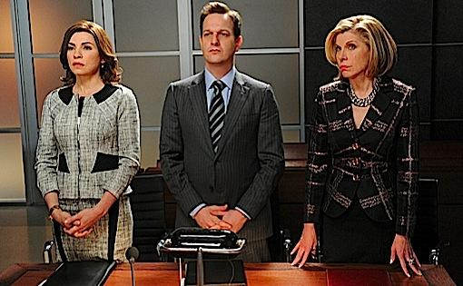 Alicia, Will, and Diane