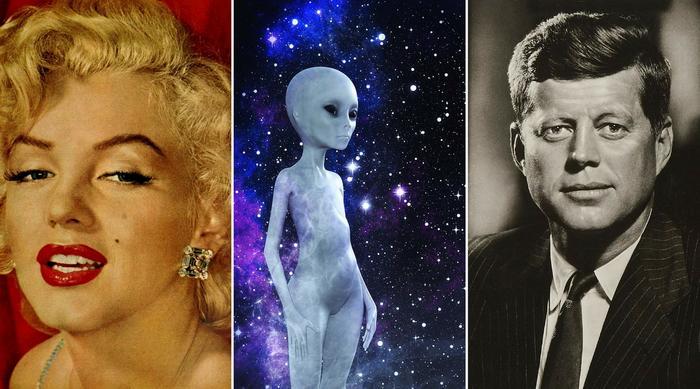 Marilyn Monroe alien