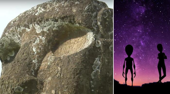 Easter Island aliens