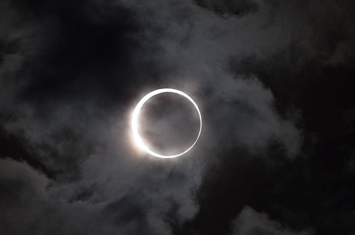 Annual solar eclipse
