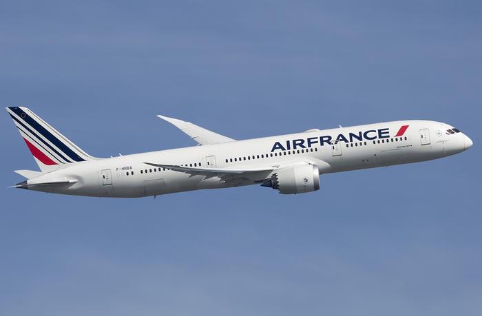 B787 plane, Air France, Dreamliner