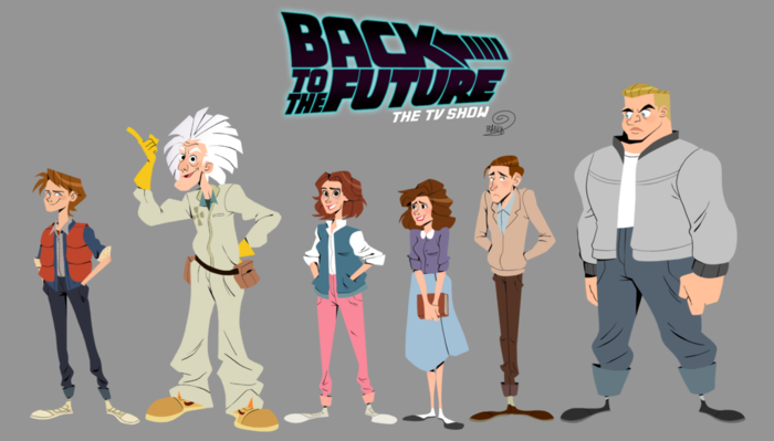 back to the future tv series