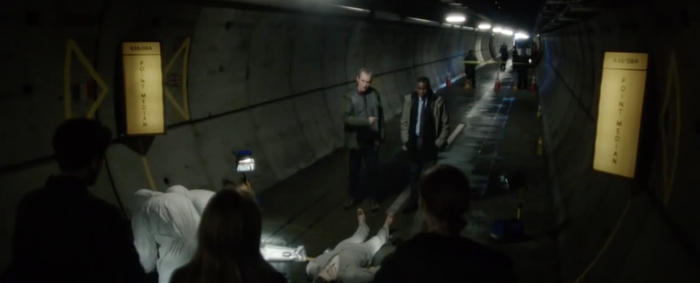 [Caption: Corpsing, The Tunnel. Credit: Sky Atlantic]