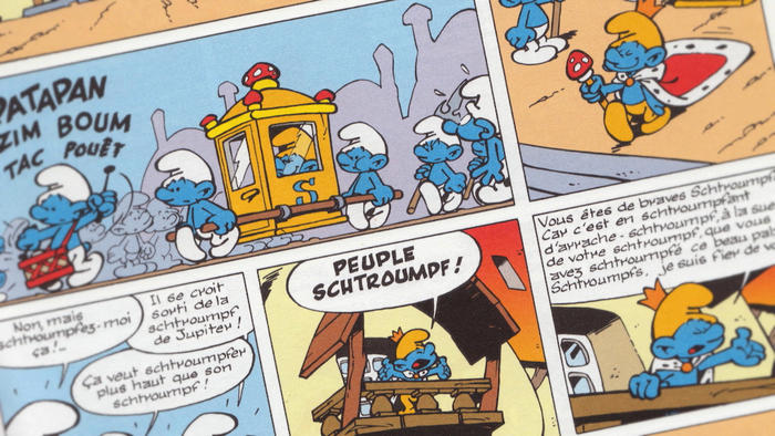 Smurfs comic strip, Peyo