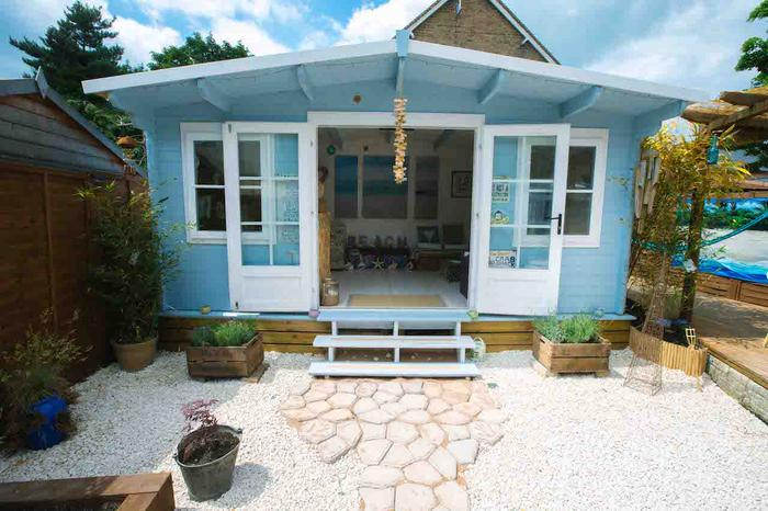 George Clarke Shed of the Year, beach themed shed