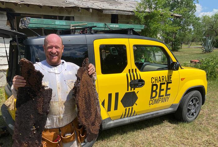 Bee Whisperer Charlie Agar