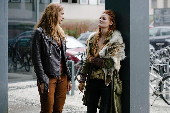 Krista Kosonen and Ágústa Eva Erlendsdóttir in Beforeigners