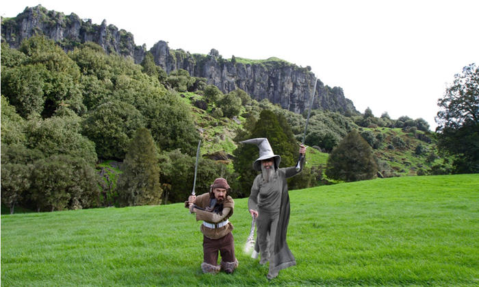 Mangaotaki Valley, New Zealand, Trollshaws Forest and Staddles Farm in The Lord of the Rings