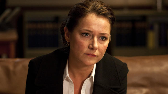 Sidse Babett Knudsen as Birgitte Nyborg in Borgen
