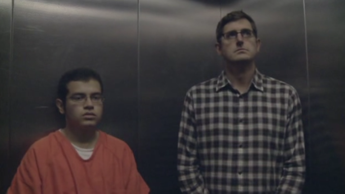 Miami Mega Jail inmate and Louis Theroux