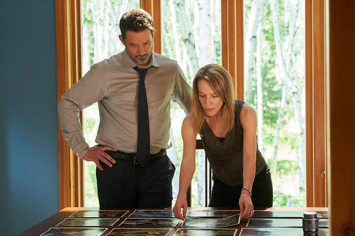 Billy Campbell and Deborah Hay in Cardinal Season 3