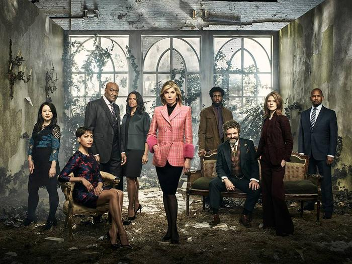 The Good Fight season 3 cast