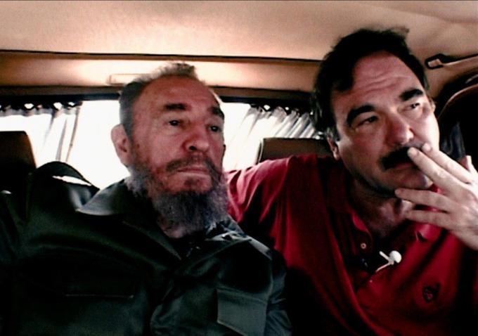 Oliver Stone and Castro
