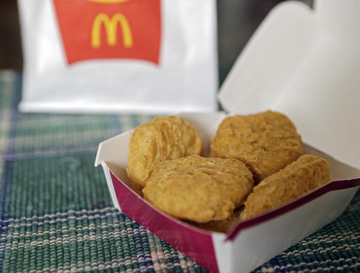 chicken mcnuggets pink slime