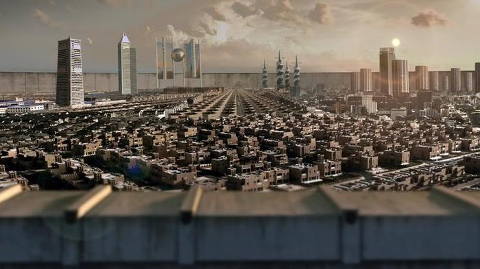 Trepalium cityscape