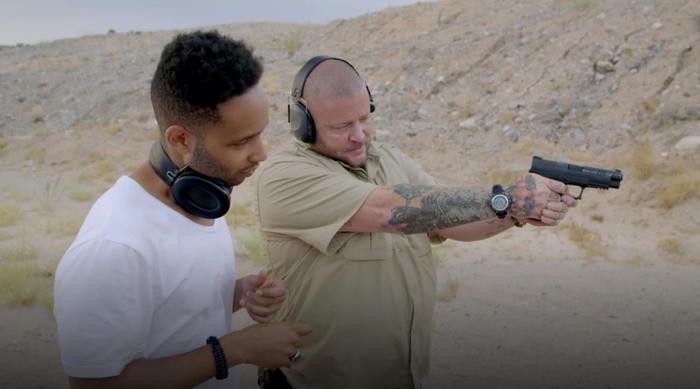 vice does america wilbert cooper guns