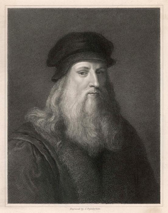 LEONARDO DA VINCI  Italian artist, engineer,  inventor etc       Date: 1452 - 1519