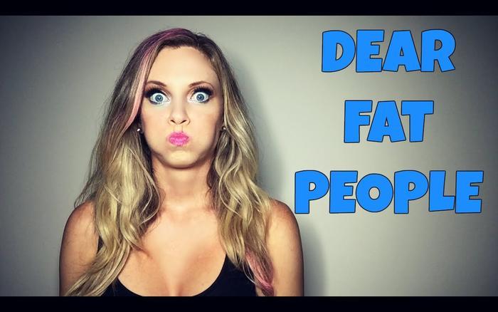 dear fat people video