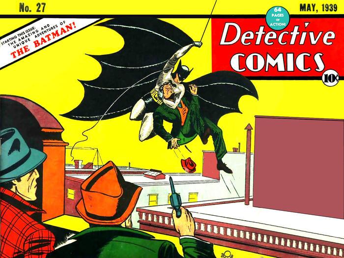 DC Comics 27, Detective Comics 27, Batman