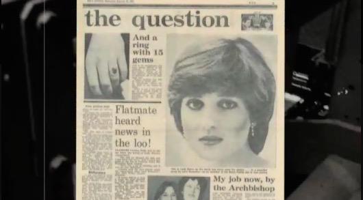 Princess Diana newspaper