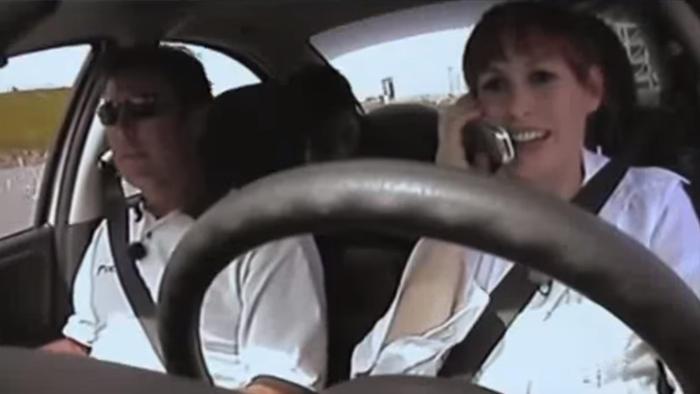 Mythbusters, Kari Byron, dangerous driving
