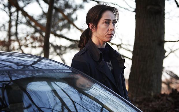 [Caption: Edgy. Sofie Gråbøl as Sarah Lund in The Killing. Credit: BBC Four]
