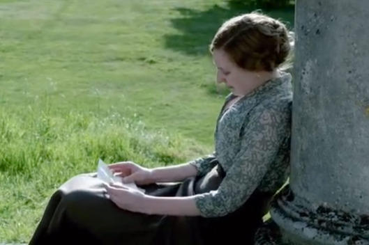 Edith note on Downton Abbey