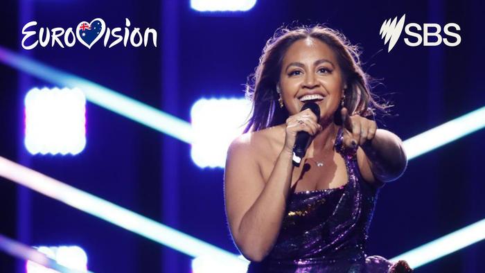Jess Mauboy Eurovision Zoom