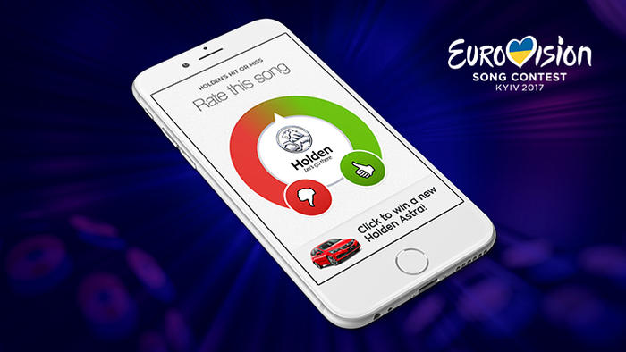 Eurovision rater