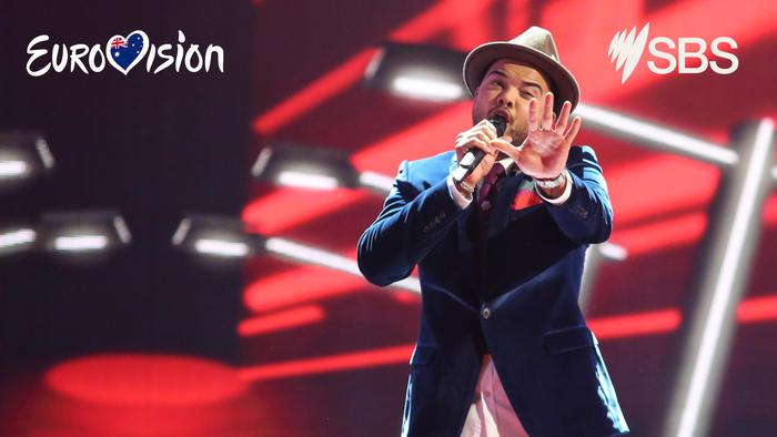 Guy Sebastian Eurovision Zoom