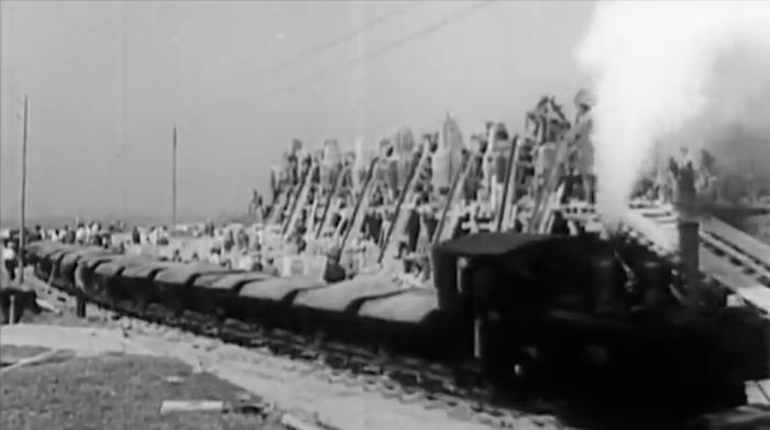 Channel Islands German-built railways Nazi invasion