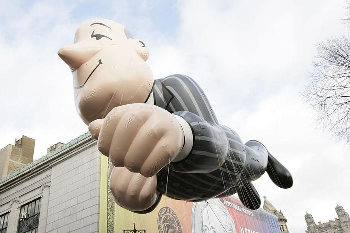 Macy's Thanksgiving Day Parade, Jeeves