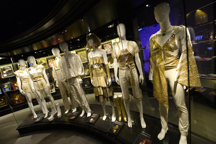 ABBA museum costumes