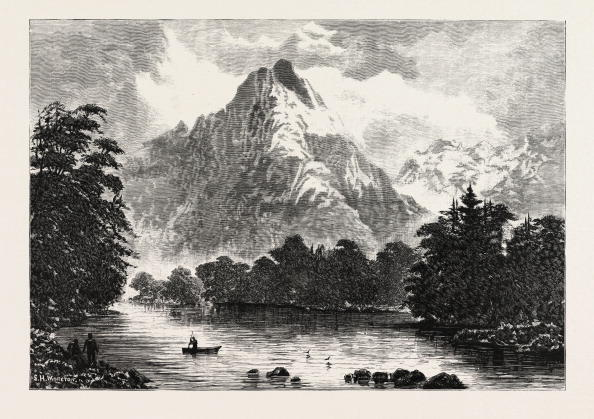 The Barren Peaks, Milford Sound, New Zealand