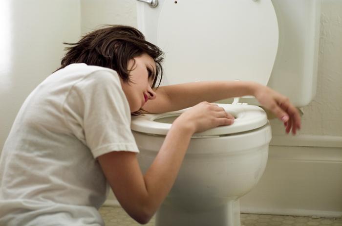 Toilet sickness