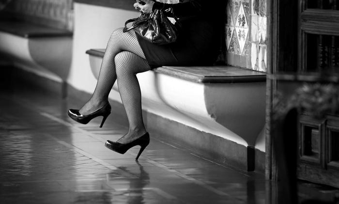 pair of women's legs