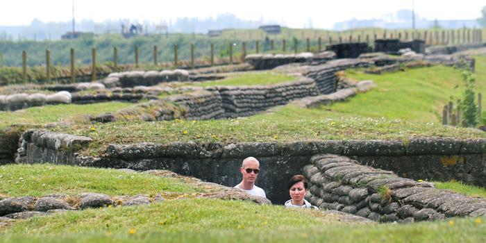 Trench of Death Diksmuide Belgium