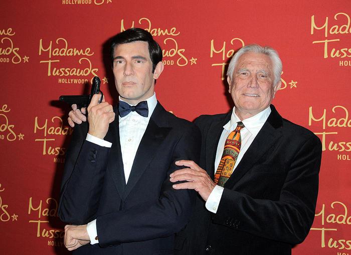 George Lazenby James Bond waxwork