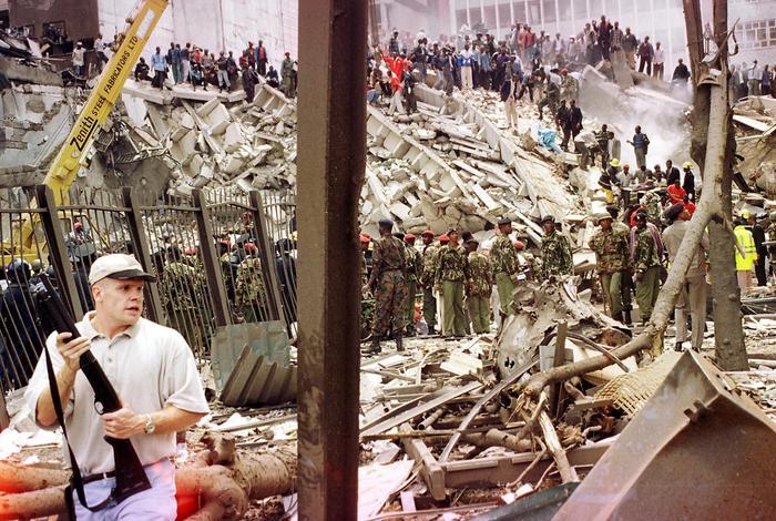 American embassy explosion Nairobi