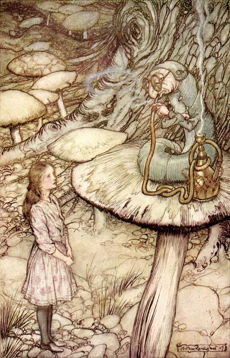 Alice in Wonderland mushroom