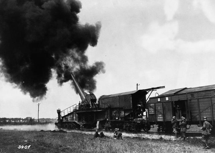 World War I Railroad Gun
