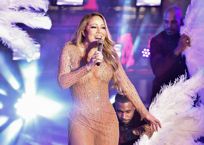 New Year's Eve 2017 Times Square Mariah Carey